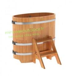 Baignoire en Melèze 0.59 x 1.06 bois naturel