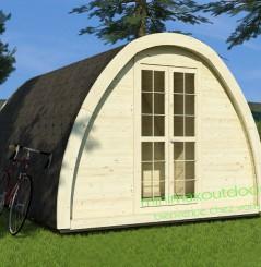 Camping Pod Isolé 2.40 x 4.80 m