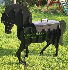 Barbecue cheval