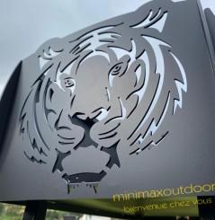 Barbecue fixe tigre