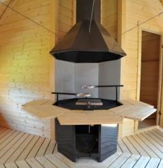 Kota mixte Grill Sauna 16.5 m²