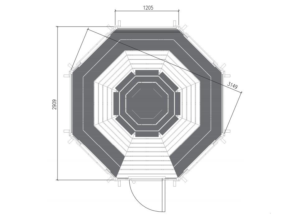 Kota Grill 6.9 m²