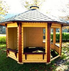 Pavillon Ouvert 9.9 m²