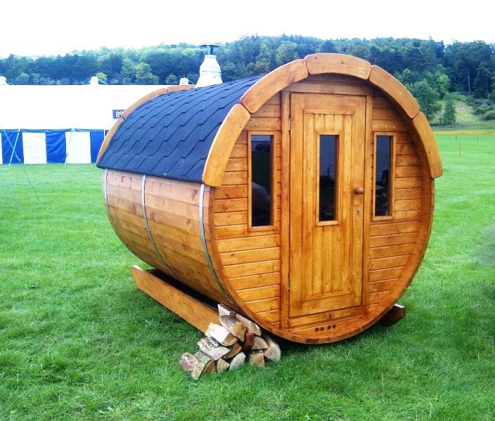 Barrique Sauna 2 m diamètre 190