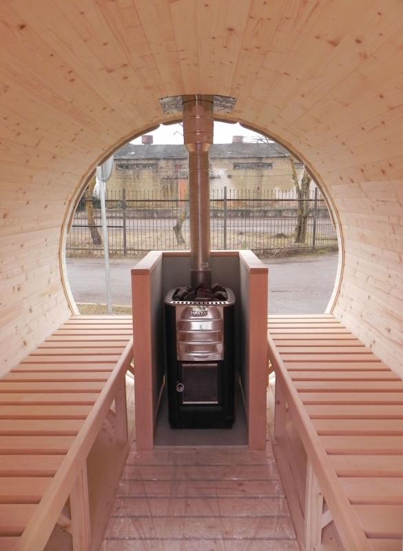 Barrique Sauna 2,50 m diamètre 190