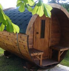 Barrique Sauna 3 m diamètre 190