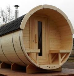 Barrique Sauna 3 m diamètre 220