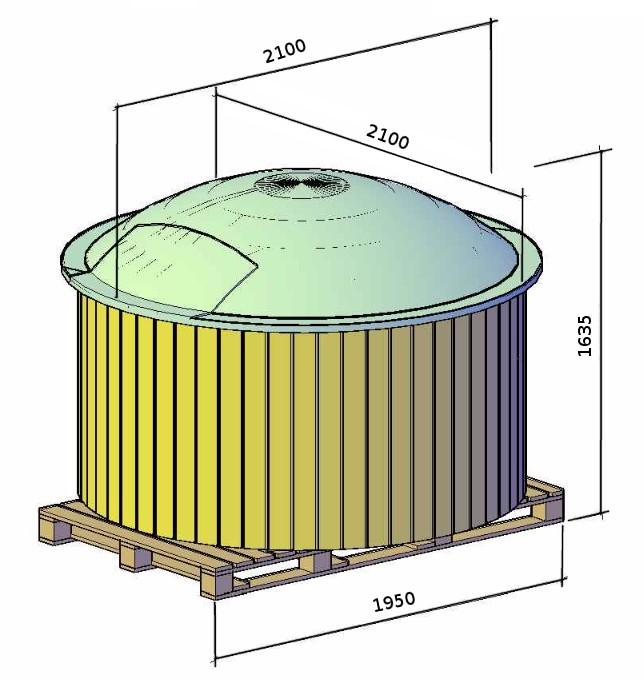 Bain Chaud Fibre de verre 180 Evolution