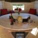 Table Premium pliante pour kota hexagonal