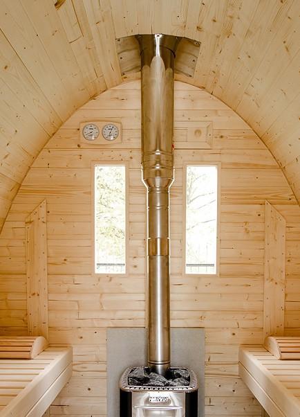 Cheminée Luxe pour chauffage bois