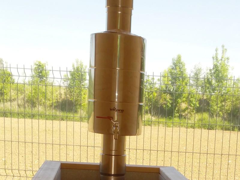 réservoir d'eau pour chauffage bois