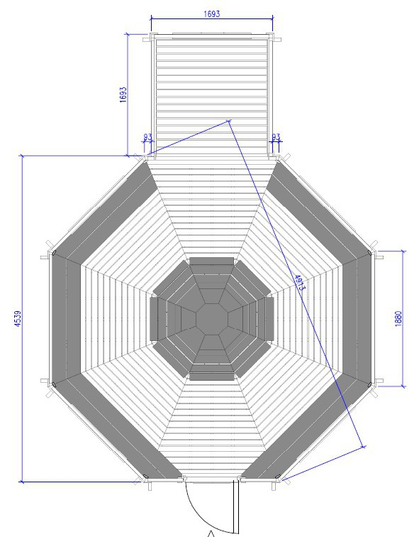 Kota Grill 16.5 m² + extension