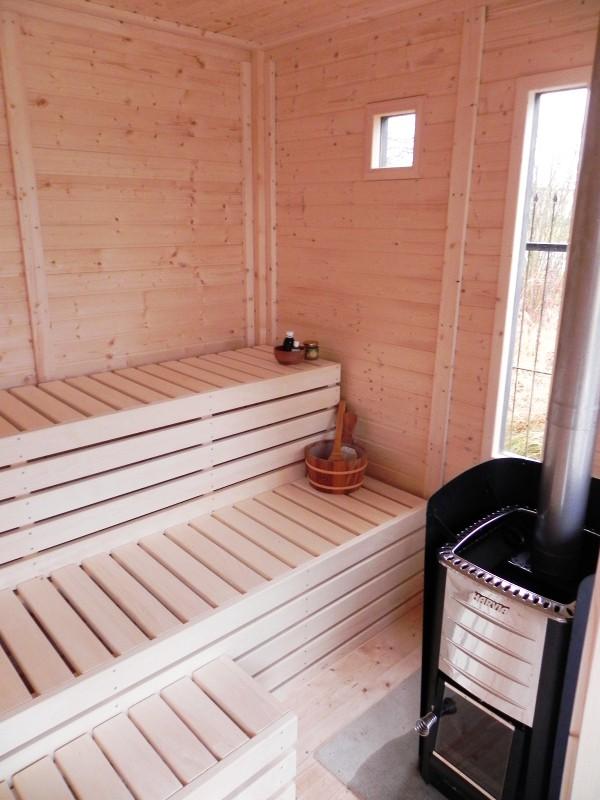 Modulo Cube Sauna 4x3
