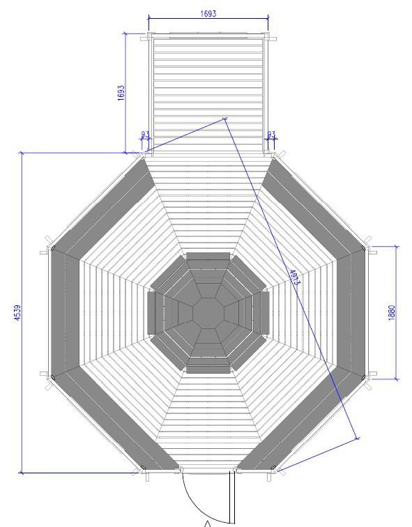 Kota Gite 16.5 m² + extension