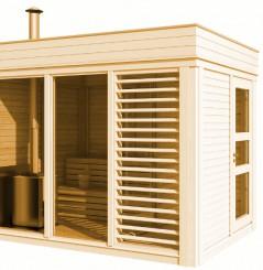 Modulo Cube Sauna 2x3