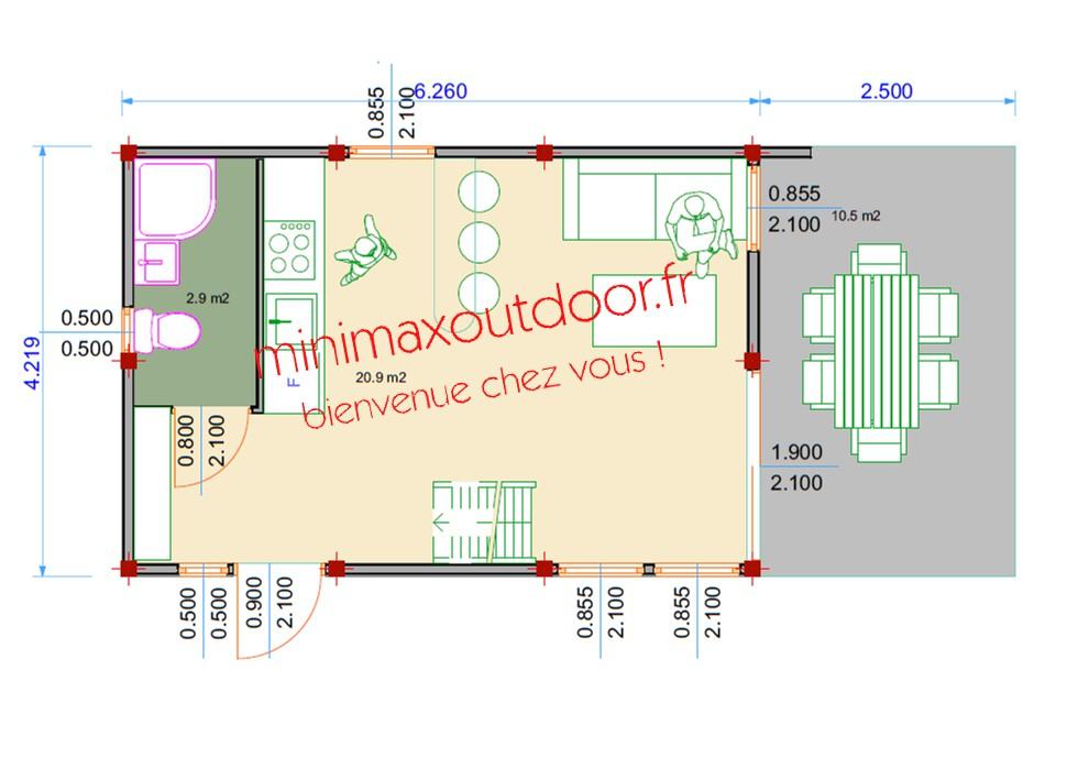 Modulo Loft 2 étages