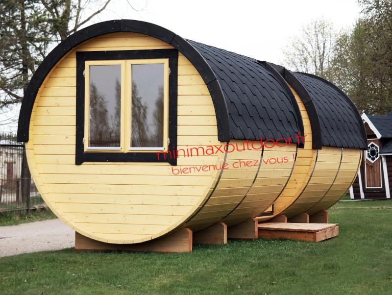 Barrique Sauna mixte 5.90 m